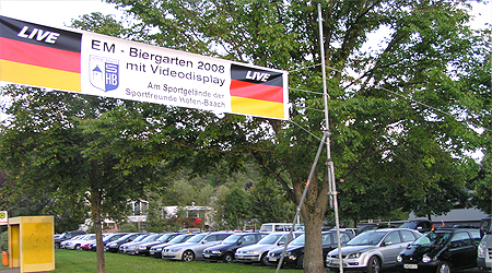 EM-Biergarten 2008